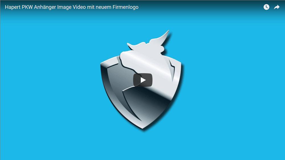 Hapert Anhänger – Imagefilm mit neuem Logo